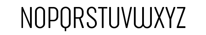 Sugo Pro Classic Trial ExtraLight Font UPPERCASE