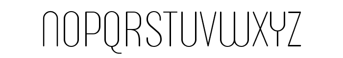 Sugo Pro Display Trial Thin Font UPPERCASE