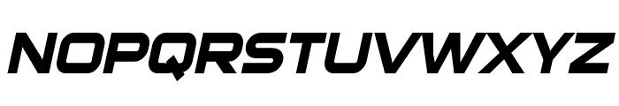 Sui Generis Bold Italic Font UPPERCASE
