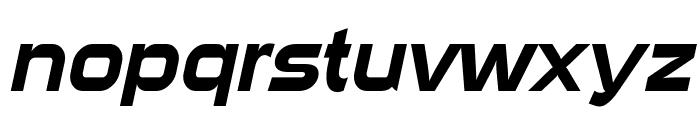 Sui Generis Italic Font LOWERCASE