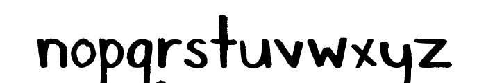 Suitcase Font LOWERCASE
