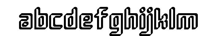 Sujeta 3D Font LOWERCASE
