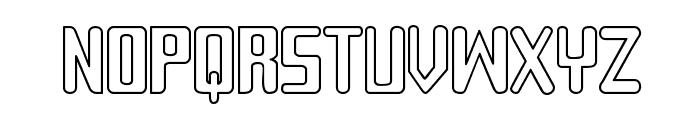 Sujeta Outline Font UPPERCASE