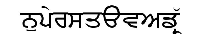 Sukhmani Font UPPERCASE