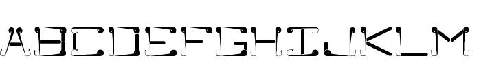 Sukolilo Typeface Regular Font UPPERCASE