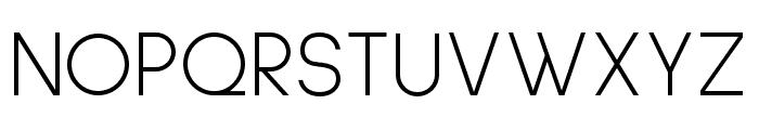 Sulphur Point Light Font UPPERCASE