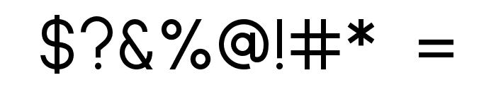 Sulphur Point Regular Font OTHER CHARS