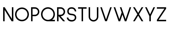 Sulphur Point Regular Font UPPERCASE