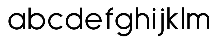 Sulphur Point Regular Font LOWERCASE