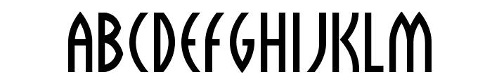 Sulphur Font UPPERCASE