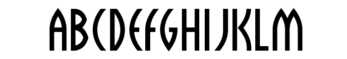 Sulphur Font LOWERCASE