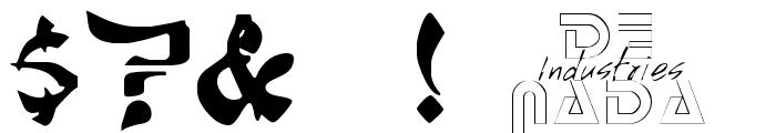 Sumdumgoi Regular Font OTHER CHARS