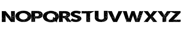 SummerBlacktop Font UPPERCASE