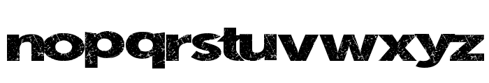 SummerBlacktop Font LOWERCASE