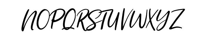 SummerFestival-Regular Font UPPERCASE