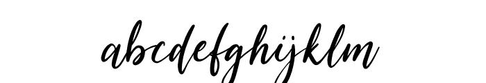 SummerFestival-Regular Font LOWERCASE