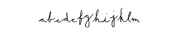 SummerScript Font UPPERCASE