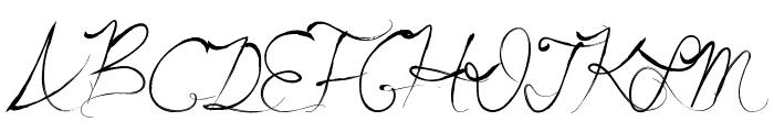 SummerScriptastic Font UPPERCASE