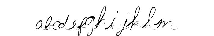SummerScriptastic Font LOWERCASE