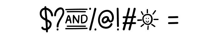SummerinDecember Font OTHER CHARS