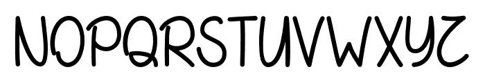 SummerinDecember Font UPPERCASE