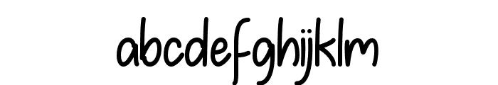 SummerinDecember Font LOWERCASE