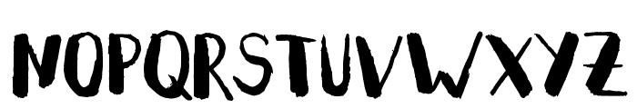 Summeron Font UPPERCASE