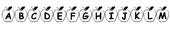 Summers Apples Font LOWERCASE