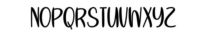 SummersVictoryOverSpring Font UPPERCASE