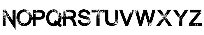 Summon the Executioner Regular Font LOWERCASE