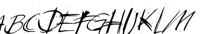 Sunday & Monday Font UPPERCASE