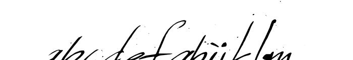 Sunday & Monday Font LOWERCASE