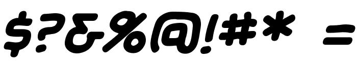 SundayComics BB Bold Font OTHER CHARS