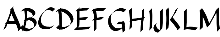 Sundayscript Font UPPERCASE