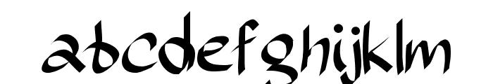 Sundayscript Font LOWERCASE