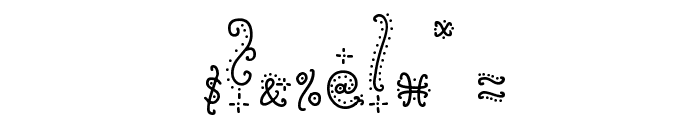 Sunflower Font OTHER CHARS