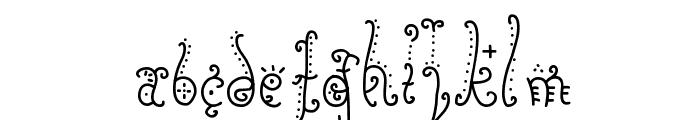 Sunflower Font UPPERCASE
