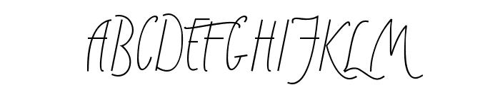 Sunny Winter Font UPPERCASE