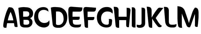 SunnySide Font UPPERCASE