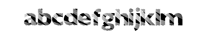 SunriseDisco Font LOWERCASE
