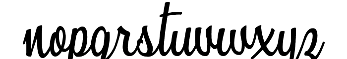 Sunshine Boulevard Personal Use Font LOWERCASE