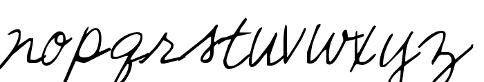 Sunshine In My Soul Font LOWERCASE