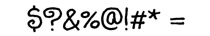 Sunshiney Font OTHER CHARS