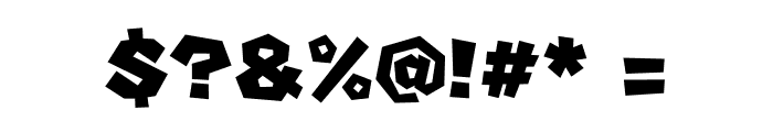 Super Mario Font OTHER CHARS