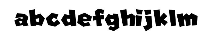 Super Mario Font LOWERCASE