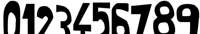 Super Modern black Font OTHER CHARS