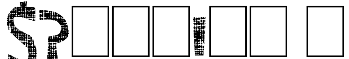 Super Modern Font OTHER CHARS