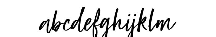 Super Natural Font LOWERCASE