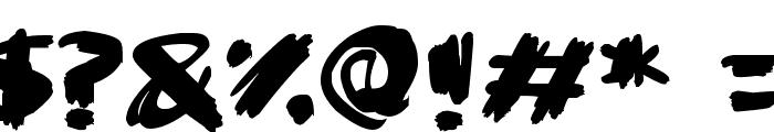 Super Sketch Font OTHER CHARS