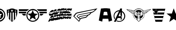 Super Soldier Regular Font OTHER CHARS